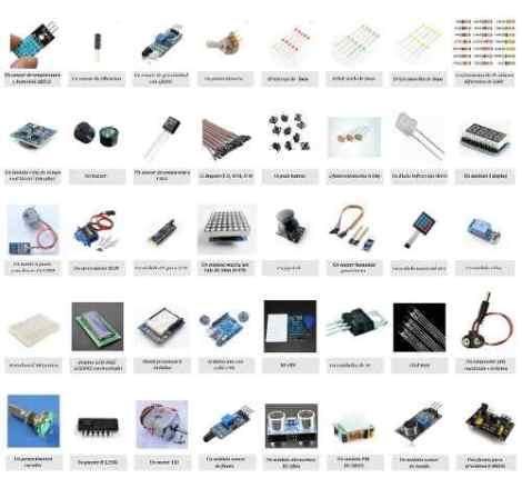Kit Arduino Uno Principiantes Mas De 230 Piezas Envio Gratis en Web Electro