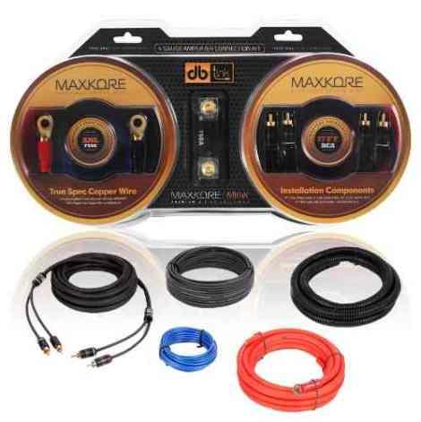 Kit De Instalacion Cables Calibre 4 Db Link 2000w Maxkore en Web Electro