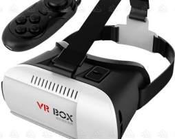 Lentes De Realidad Virtual Vr Box + Control Iphone Y Android en Web Electro