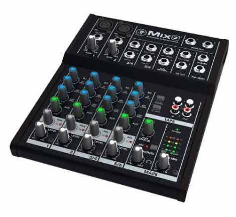 Mezcladora Mackie Mix8