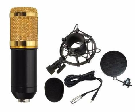 Micrófono Bm800 Metal No Plástico Filtro Antipop De Metal en Web Electro
