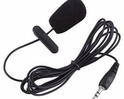 Micrófono Condensador Lavalier Para Cámaras Y Smartphones