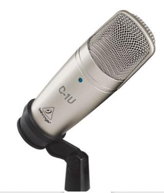 Microfono De Condensador Usb Estudio Behringer C-1u