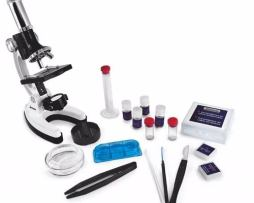 Microscopio Blanco 100x