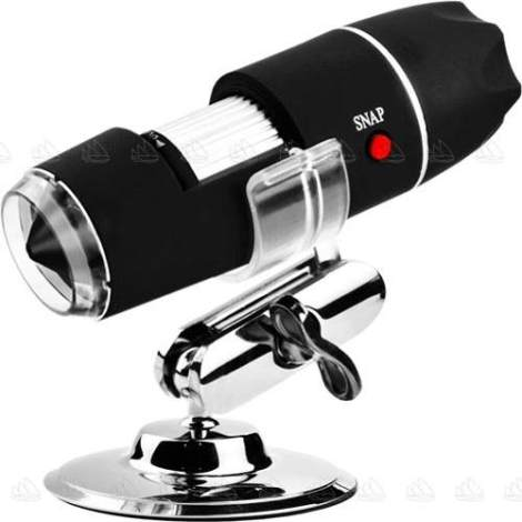 Microscopio Digital Usb 1000x Zoom Optico Hd 8 Potentes Leds en Web Electro