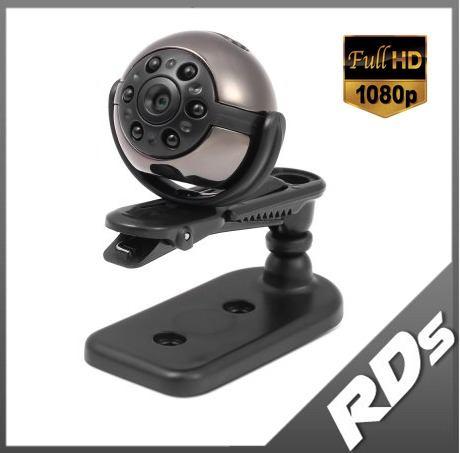 Mini Cámara Sq9 Dvr Car 360 Visión Nocturna 1080p Movimiento