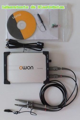 Osciloscopio Digital Usb 2 Canales 25mhz P/ Pc Owon Vds1022i en Web Electro