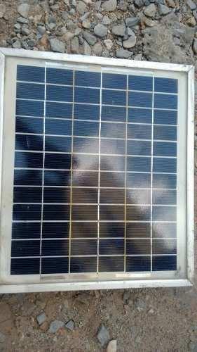 Panel Solar 10w 17v (usados) en Web Electro