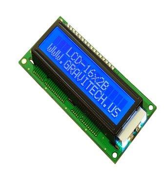 Pantalla 16×2 Lcd Iluminación Azul Letras Blancas en Web Electro