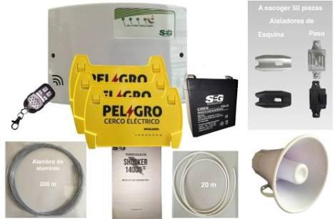 Paquete Económico Instalación 26 A 30 M Cerca Electrificada en Web Electro