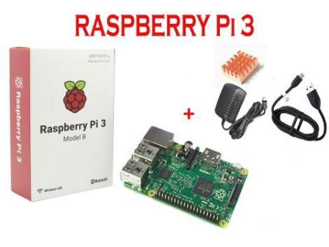 Raspberry Pi 3 Incluye Accesorios