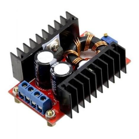 Regulador De Dc-dc De Subida 10-32v A 12-35v  150w en Web Electro