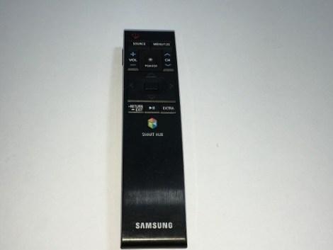Samsung Smart Hub Control Remoto Tv Curved Usado Buen Estado en Web Electro