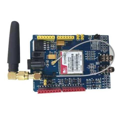 Shield Sim900 Celular Gprs/gsm Arduino Voz Textos Sms Datos en Web Electro