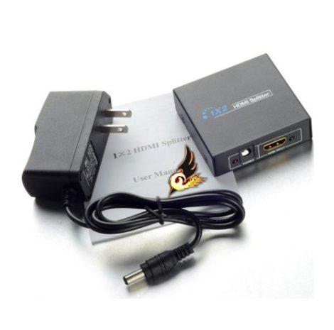 Splitter Full Hd Divisor De Señal Hdmi 720p 1080 P 2d