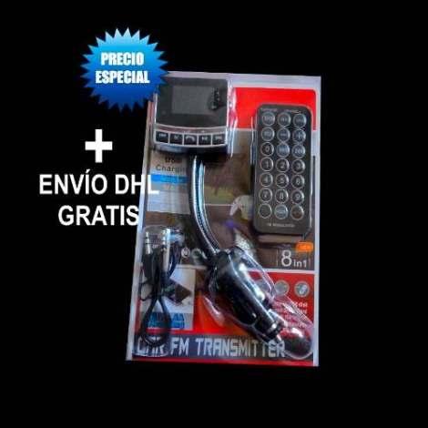 Transmisor Bluetooht Fm Manos Libres Usb Para Auto Estereos