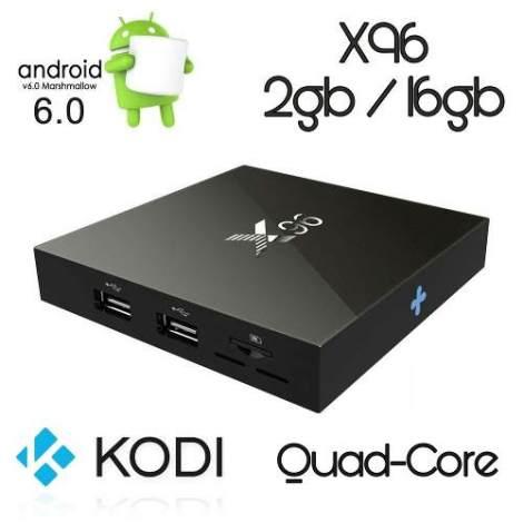 X96 Tv Box / 2gb Ram / 16gb / Android 6.0 / Kodi / Netflix en Web Electro