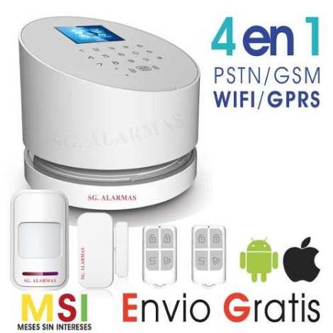 Alarma Wifi Gsm – Pstn Seguridad Casa Negocio App – Celular en Web Electro