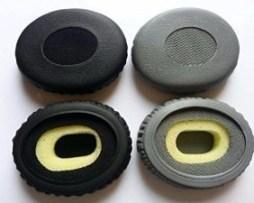 Almohadillas / Earpads Para Bose Oe2 En Gris Ó Negro Oem