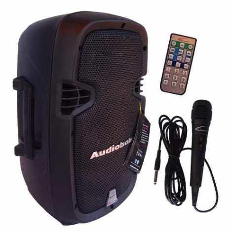 Altavoz Amplificado Audiobahn 8 + Microfono
