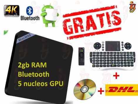 Android Tv Box 2 Gb Ram Super Potente  +teclado+envio Gratis en Web Electro