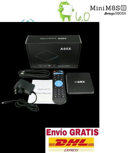 Android Tv Box Mini Android 6.0 1gb./8gb. La Mejor Y Moderna