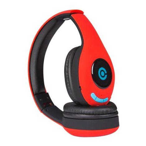 Audifono Diadema Inalambrico Bluetooth One Rojo en Web Electro
