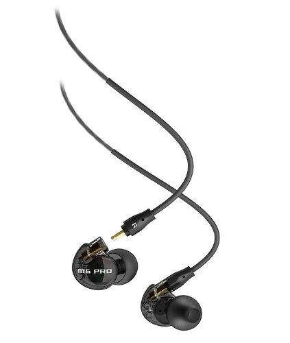 Audífonos Monitor Mee Audio M6 Pro Smoke Con Micrófono en Web Electro