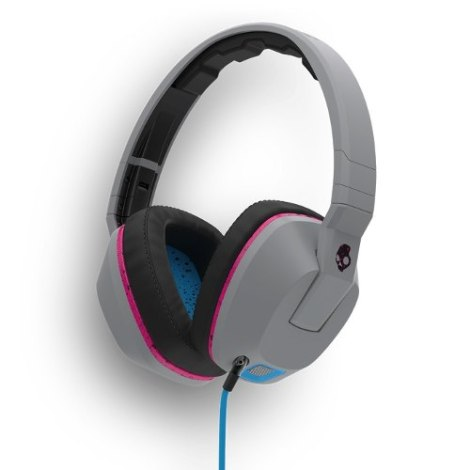 Audifonos Skullcandy Crusher Gray Cyan Black Microfono en Web Electro
