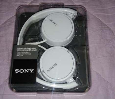 Audifonos Sony Mdr-zx100/cw en Web Electro