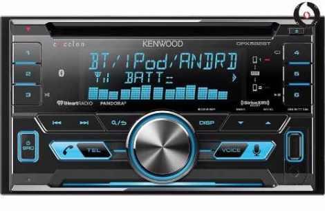 Autoestereo Kenwood Dpx592bt Doble Din Bluetooth Usb en Web Electro