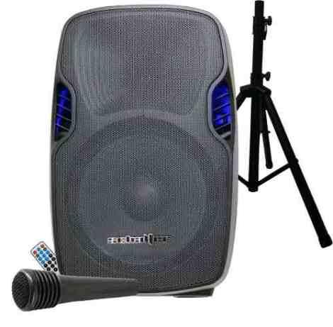 Bafle Bi Amplificado 15 Usb Sd Radio Bluetooth  Toroide