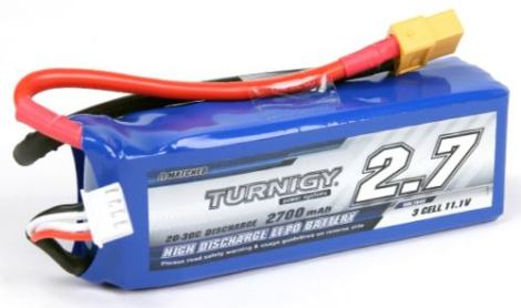Bateria 2700mah 3s 20c Lipo Quanum Nova Dji Phantom 1 Qrx350