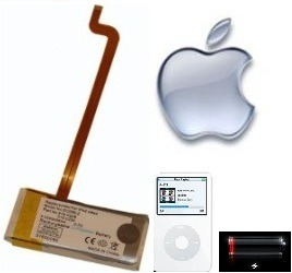 Bateria Ipod Classic Y Video 100% Originales Planetaiphone