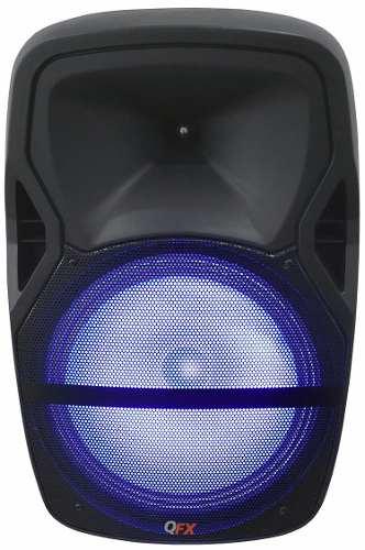 Bocina Amplificada Tripie Bluetooth Microfono Guitarra Qfx en Web Electro