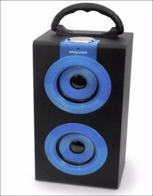 Bocina Bluetooth  Usb Portátil  Reproductor Nakazaki Bt2600 en Web Electro