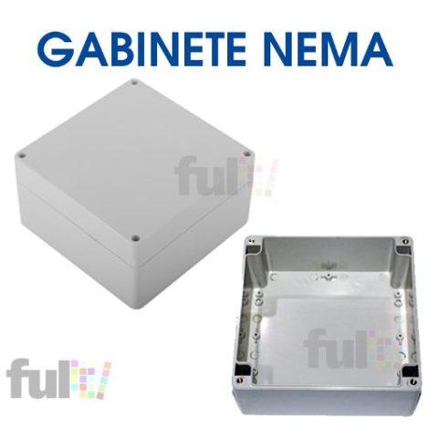 Caja Nema Abs Uv Gabinete Exteriores 16 X 16cm
