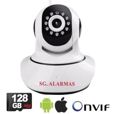 Camara Ip Wifi Seguridad Alarma Casa Negocio Vía App Celular en Web Electro