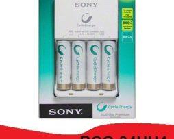 Cargador Sony Original Con 4 Baterias Aa Bcg-34hh4 Puebla