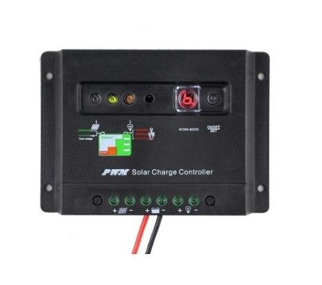Controlador 30a Regulador 30amp Panel Solar Fotocelda 12/24v en Web Electro