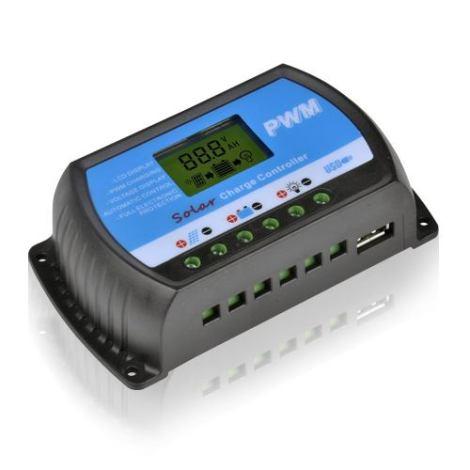 Controlador De Carga Solar 30a Sistema Fotovoltaico