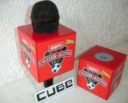 Cubos Para Microfono Con Impresion