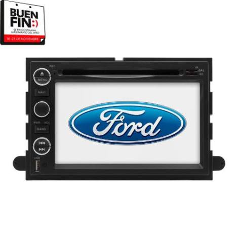 Estereo Ford Pantalla 8 Pulgadas Gps Dvd Usb Sd Tv Ipod Bt en Web Electro