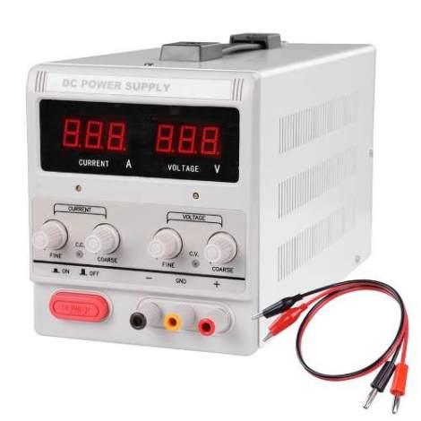 Fuente De Poder Variable De Presicion.. 110v  30v 10amp en Web Electro