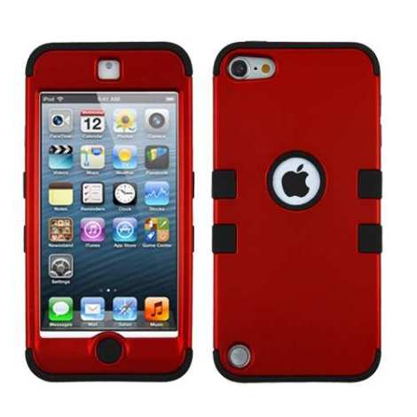 daac0f46489 Funda Protector Triple Layer Apple Ipod Touch 5g / 6g Rojo T