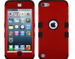 Funda Protector Triple Layer Apple Ipod Touch 5g / 6g Rojo T