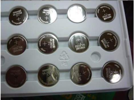 Genuina Maxell Ml2032 Tipo Moneda Recargable 3v Con Envio!