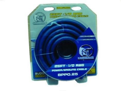 Kit De Cable Calibre 0 Linea Pro Bullz Audio Bpp0.25 en Web Electro