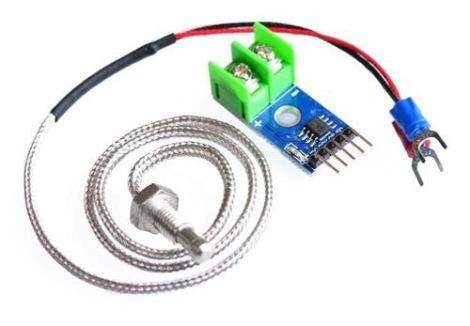 Kit Medicion De Temperatura Modulo Max6675 + Termocupla K en Web Electro