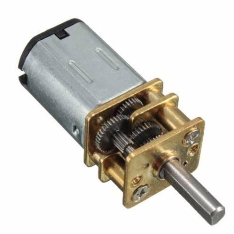 Micro Motor Dc Con Reducción N20 6v 30 Rpm